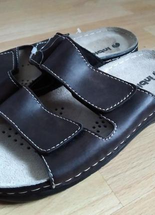 40 р. inblu, новые мужские шлепанцы тапочки сандалии inblu