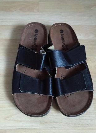 41p. inblu новые мужские шлепанцы тапочки сандалии