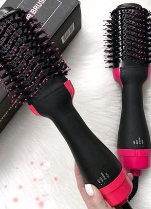 Фен щётка стайлер для волос one step haire dryer and styler 3в 1
