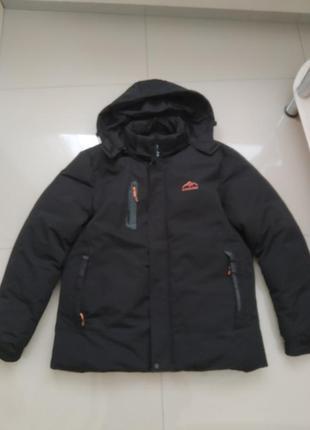52 р. зимняя куртка пуховик outdoor sport