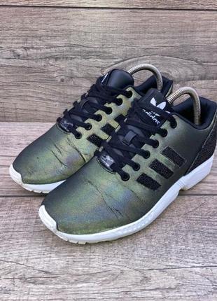 Оригинальные рефлективные кроссовки adidas originals zx flux w