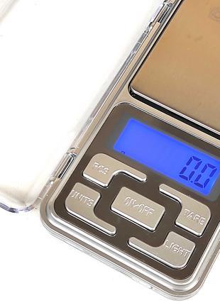 Весы ювелирные электронные карманные DOMOTEC MS-1724 500г