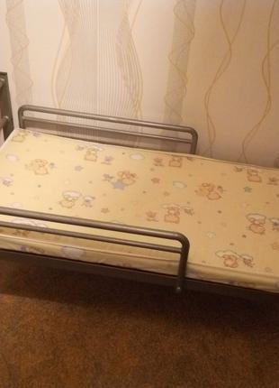 детская ортопедическая разборная кроватка из металла