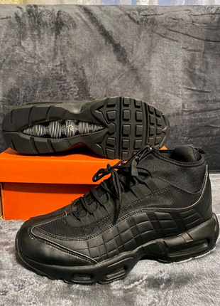 "Nike Air Max 95 Sneakerboot ""Black""❄️🔥"