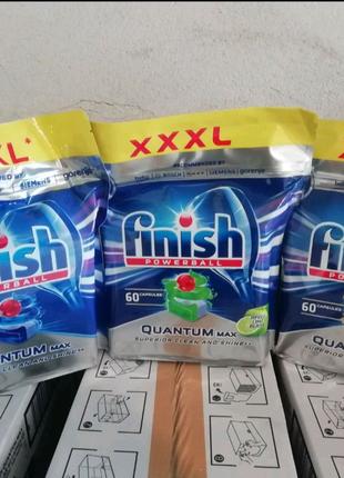 Капсулы для посудомойки Finish