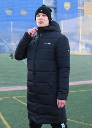 Удлиненная зимняя куртка adidas