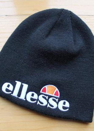 Шапка унисекс с большим лого ellesse