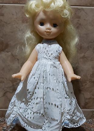 Кукла в родной одежде СССР 40 см