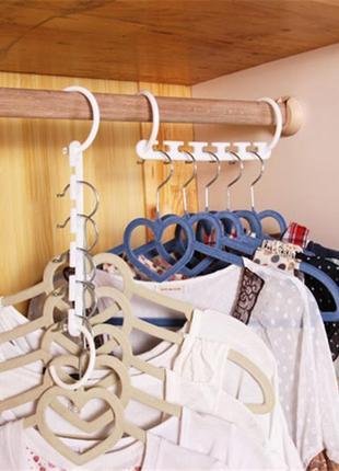 Чудо-вешалка - экономия пространства в шкафу