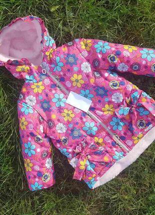 Куртка еврозима для девочек