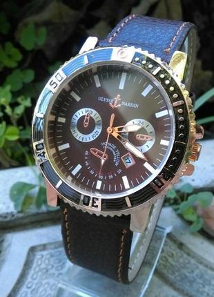 Мужские наручные часы ulysse nardin   в наличии  