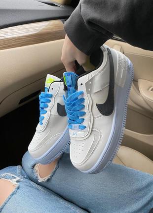 Nike air force shadow blue