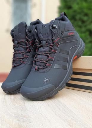 Зимние мужские ботинки кроссовки adidas climaproof (41-46)