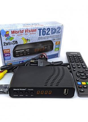 T2 тюнер World Vision T62D2
