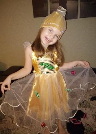 Карнавальный костюм конфетка,  новогодний костюм