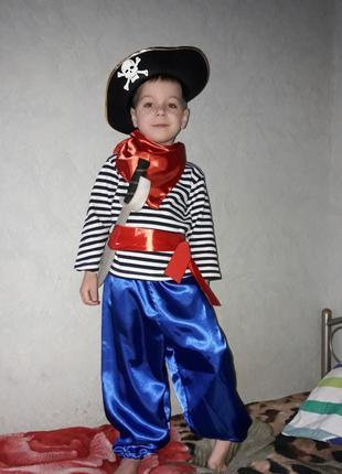 Костюм пират, новогодний костюм,  карнавальный костюм