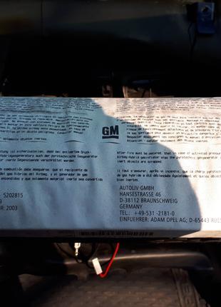 Подушка пассажира Airbag ,Opel Astra G, Astra Classic