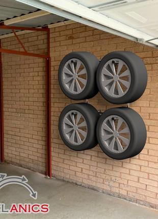 Модный стеллаж для хранения колес - (Model-1324H)