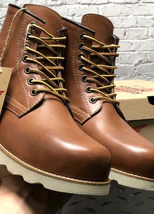 Мужские зимние кожаные ботинки Red Wing