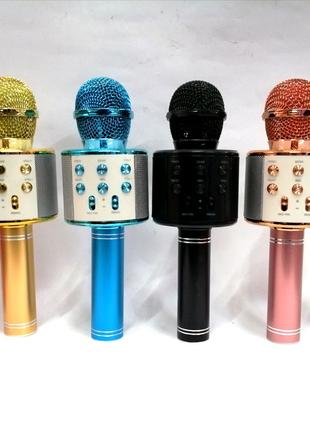 Микрофон Bluetooth - колонка WS-858
