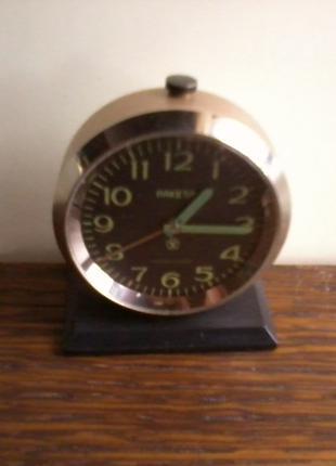 Часы – будильник «РАКЕТА», 19 камней, ПЧЗ, СССР, 70-е годы.