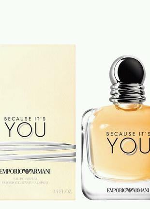 100 мл Armani Emporio Armani Because It's You женский парфюм