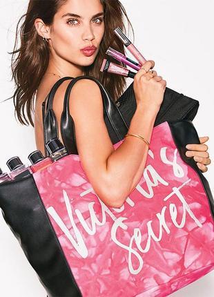 Вместительная сумка-шоппер victoria's secret {сша}