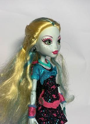 Кукла монстер хай Mattel оригинал Лагуна Блю