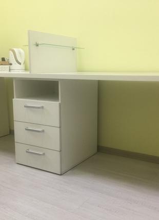 Маникюрный стол, стол для маникюра, двойной маникюрный стол