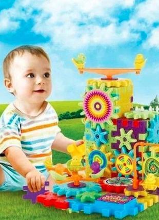 Конструктор FUNNY BRICKS фанни брикс 81 деталь детский констру...
