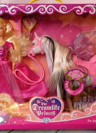 Барби с лошадкой (издаёт звуки)