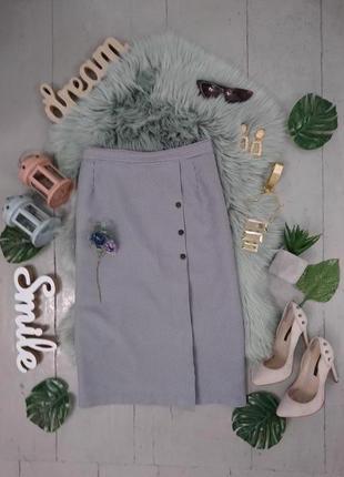 Актуальная юбка миди в гусиную лапку №15