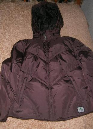 Куртка  зимняя vaude mountain оригінал пух натуральный