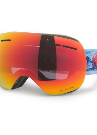 Сноубордическая маска Dragon X1S Realm/Red Ion + Rose