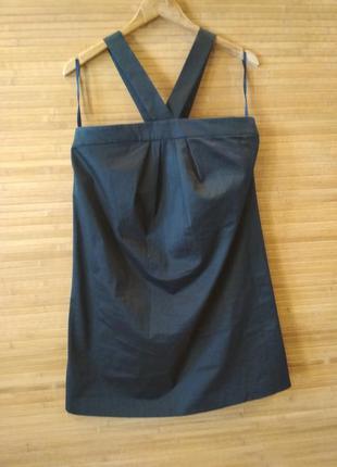 Черное платье сарафан french connection