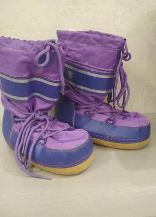 Зимние сапоги, ботинки, луноходы, сноубутсы