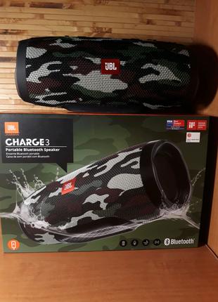 Портативная акустика JBL Charge 3 SQUAD (JBLCHARGE3SQUADEU)