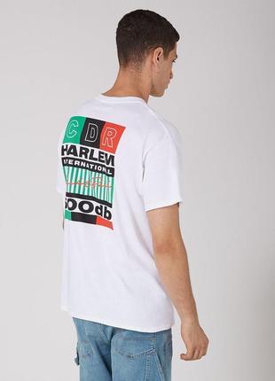 Белая оверсайзовая футболка topman !