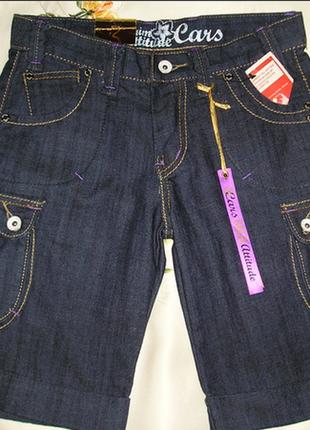 Фірмові джинсові шорти