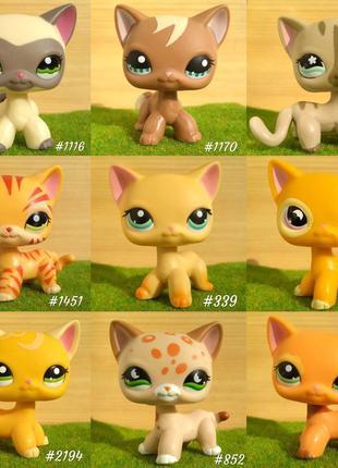 ЖМИ СЮДА! Lps, кошки стоячки,Littlest pet shop, лпс Hasbro.