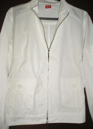 Білосніжна курточка від тсм tchibo 44-46 європ. наш 50-52 р-р