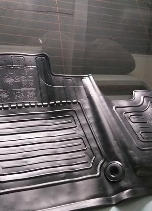Коврики салона багажника Toyota Proace Verso
