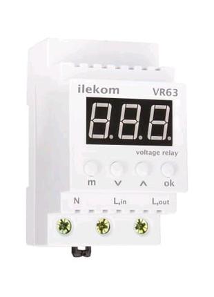 Реле напряжения ILEKOM VR63