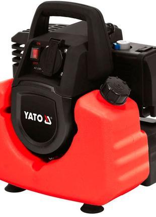 Переносной инверторный генератор 800/880 Вт Yato YT-85481