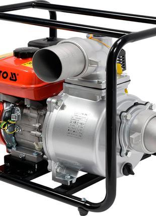 Мотопомпа бензиновая для перекачки воды Yato YT-85403
