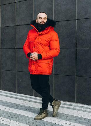 Мужская очень теплая зимняя куртка asos аляска 2020