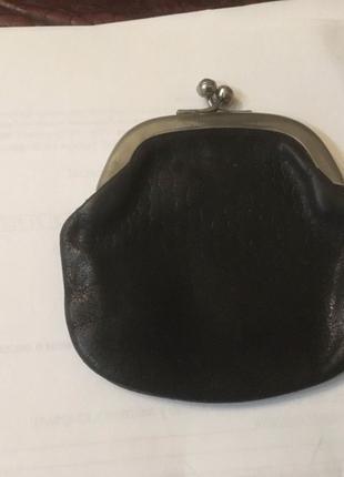 Кожаный кошелёк 50-х годов