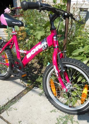 Детский велосипед BORA 16 Колесо . Состояние нового Германия
