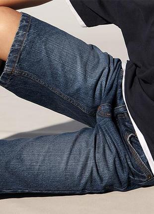Стильні та модні джинсові шорти-бріджі 134 -140 ріст тсм німеч...