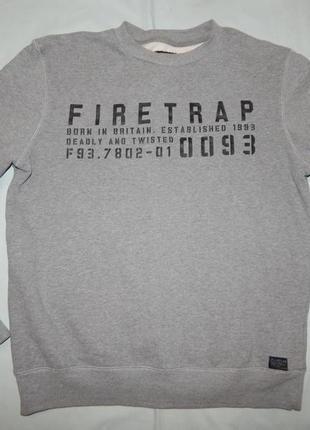 Firetrap свитшот трикотажный мужской толстовка рl